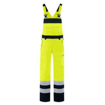 Tricorp multinorm bicolor high visibility overall | 74% katoen/25% polyester/1% andere vezels | 320 gr/m2