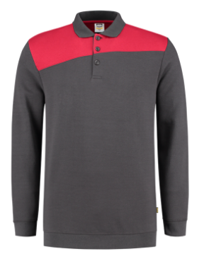 Tricorp Polosweater Bicolor Naden | 70% Katoen / 30% Polyester