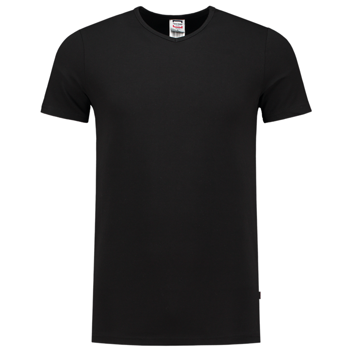 Tricorp T-shirt Elastaan Slim Fit V-hals